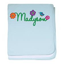 Madyson Flowers baby blanket