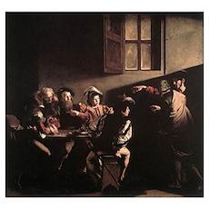 The Calling of Saint Matthew Poster