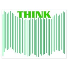 Think (green) Poster