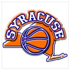 Syracuse Basketball Framed Print