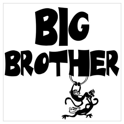 Big Brother (Monkies) Poster