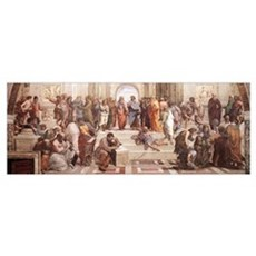 School of Athens Framed Print