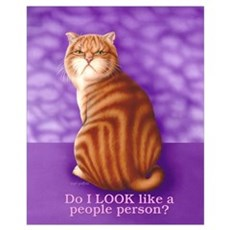 People Person Small 16x20 Poster