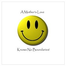 Smiley Face No Boundaries Canvas Art