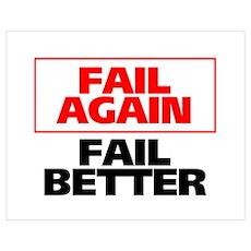 Fail Better Poster