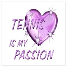 Tennis Passion Poster