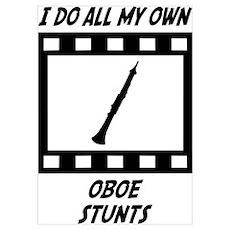 Oboe Stunts Poster