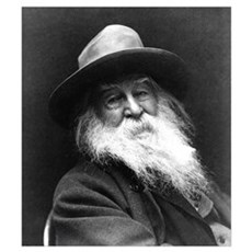 Walt Whitman Canvas Art