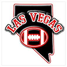 Las Vegas Football Poster
