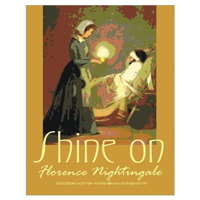 Florence Nightingale Student Nurse r Poster