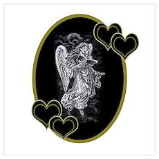 Valentine's Day Angel Poster
