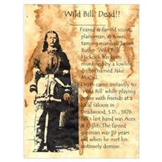 Wild Bill Hickock Poster