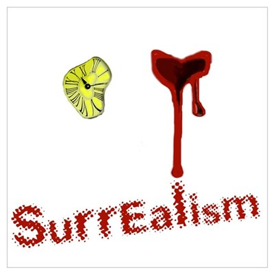 I heart surrealism Poster