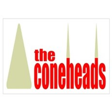 The Coneheads Poster