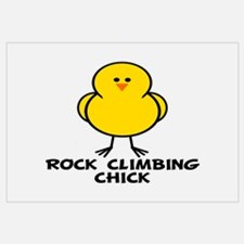 Rock Climbing Chick