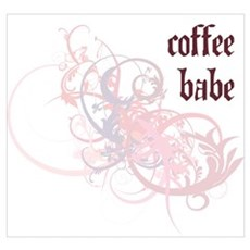 Coffee Babe Poster
