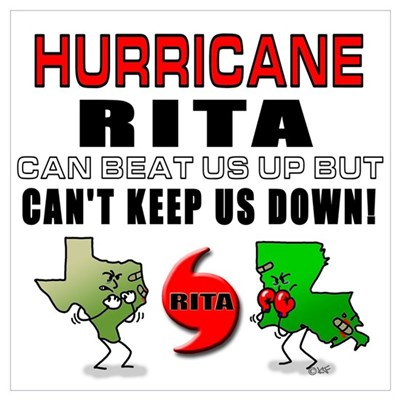 Rita Can't Keep Us Down! Poster