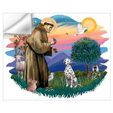 St Francis #2/ Dalmatian Wall Decal