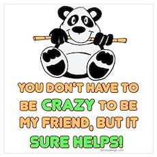 Crazy Friends Poster