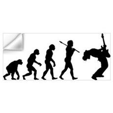 Guitar Player Wall Decal