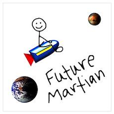Future Martian Poster