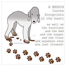 Bedlington Terriers Poster