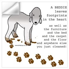 Bedlington Terriers Wall Decal