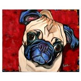 Pug Framed Prints