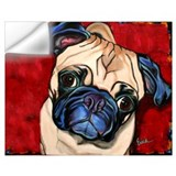 Pug Wall Decals