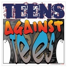 Teens Against Tees Poster
