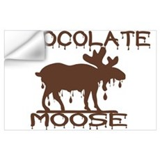 Chocolate Moose Wall Decal