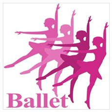 Ballerinas Dance Ballet Poster