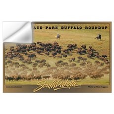 Custer State Park Buffalo Roundup Wall Decal