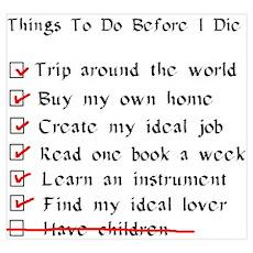 Child-Free Checklist Poster