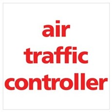 Air Traffic Controller Poster