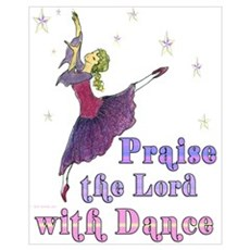 Praise the Lord with Dance Framed Print