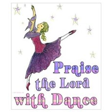 Praise the Lord with Dance Poster