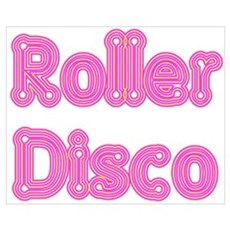 Roller Disco Canvas Art