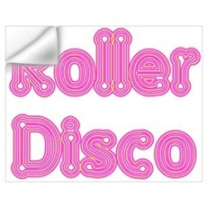 Roller Disco Wall Decal