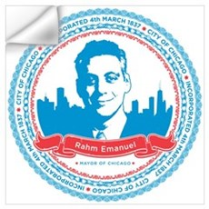 Mayor Rahm Wall Decal