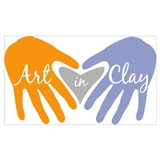 Art in Clay / OVCAG Poster