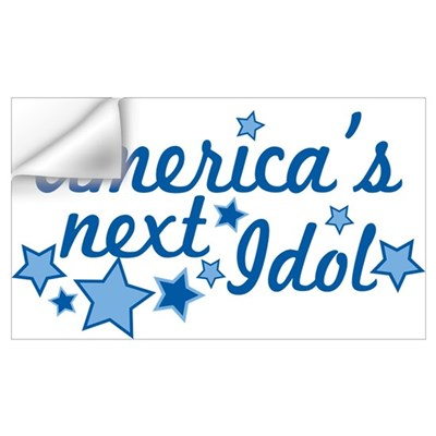 America's Next Idol Wall Decal