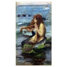 A Mermaid (study) Poster