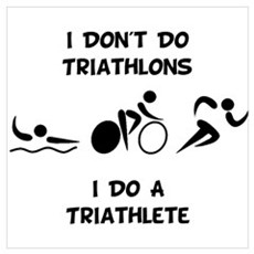 Do Triathlete Poster