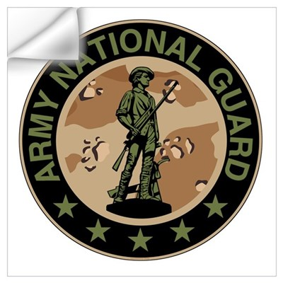 Army National Guard Wall Decal