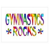 Gymnast Wrapped Canvas Art
