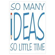 Writing Ideas - Blue Pencil