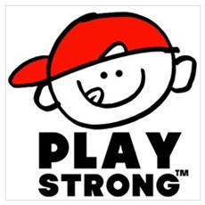 Kid Play Strong Poster