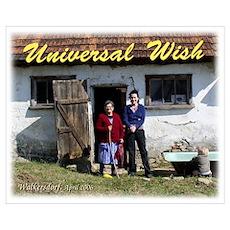 Wd8 'Universal Wish' Poster