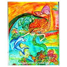 Mermaid Bliss Poster